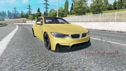 BMW M4 coupe (F82) v2.0 for Euro Truck Simulator 2
