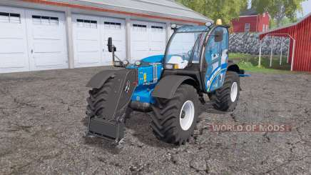 New Holland LM 7.42 rear hydraulics for Farming Simulator 2015