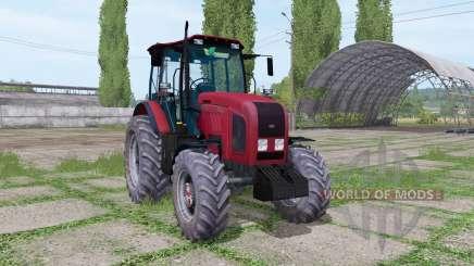 Belarus 2022.3 red for Farming Simulator 2017