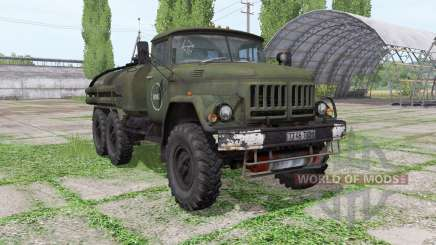 ZIL 131 tanker for Farming Simulator 2017