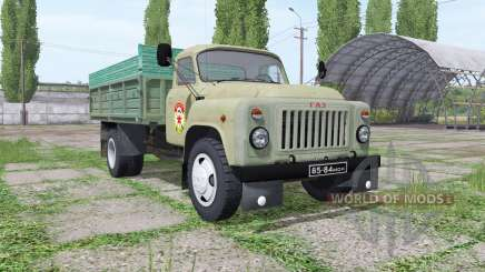 GAZ 53 DOSAAF for Farming Simulator 2017