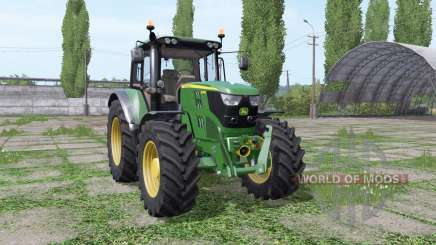 John Deere 6115M wide tyre for Farming Simulator 2017
