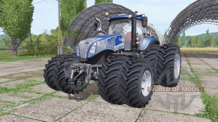 New Holland T8.380 Blue Power v2.0 for Farming Simulator 2017