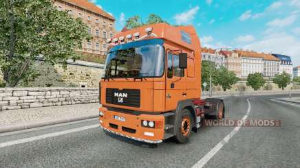 MAN F2000 19.414 FLS v1.0.4 for Euro Truck Simulator 2