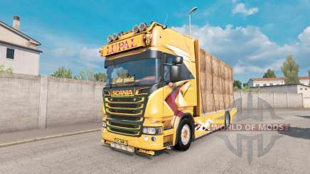 Scania R Topline Lupal for Euro Truck Simulator 2