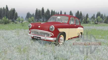 Moskvich 407 1958 v2.0 for Spin Tires
