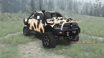 Dodge Ram 2500 Heavy Duty Crew Cab for MudRunner