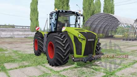 CLAAS Xerion 5000 Trac VC green for Farming Simulator 2017
