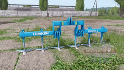 LEMKEN Dolomit 9-400 v2.4 for Farming Simulator 2017