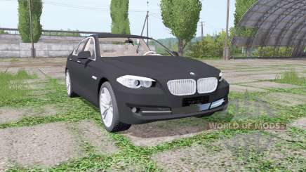 BMW 525d sedan (F10) for Farming Simulator 2017