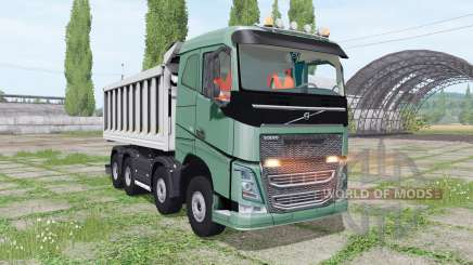 Volvo FH 540 8x8 tipper for Farming Simulator 2017
