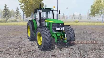 John Deere 6920 green for Farming Simulator 2013