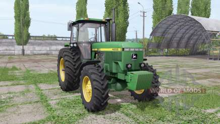 John Deere 4555 v4.0 for Farming Simulator 2017