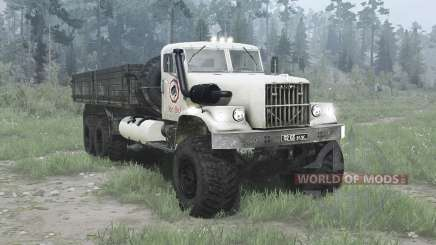 The 6x6 KrAZ 257 for MudRunner