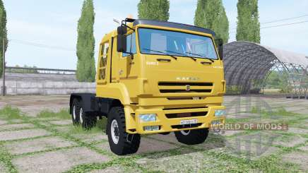 KAMAZ 65226 v1.0.0.1 for Farming Simulator 2017