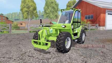 Merlo P41.7 Turbofarmer rear hydraulics for Farming Simulator 2015