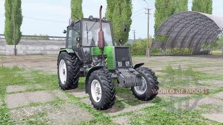 Belarus MTZ 1025 green for Farming Simulator 2017