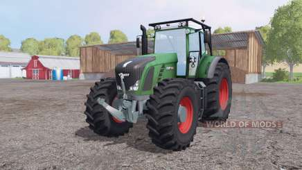 Fendt 936 Vario SCR forest edition for Farming Simulator 2015