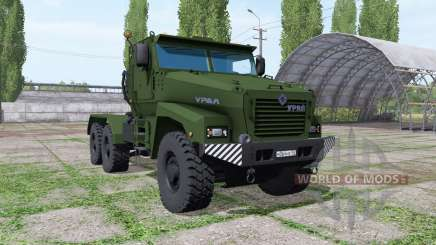 Ural Typhoon-U (63095) 2014 truck v1.1 for Farming Simulator 2017