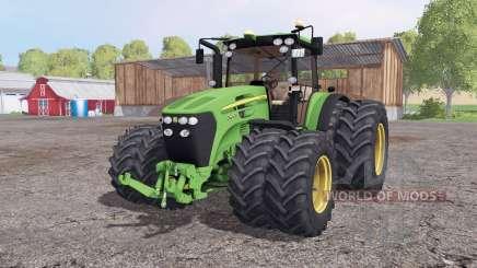 John Deere 7930 twin whеels for Farming Simulator 2015