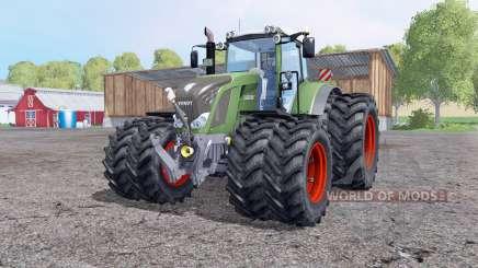 Fendt 828 Vario twin wheеls for Farming Simulator 2015