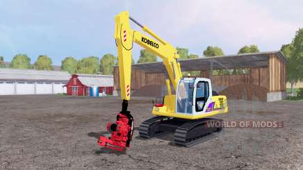 Kobelco SK160 LC for Farming Simulator 2015
