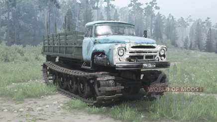 ZIL-1 Vityaz experienced 1967 for MudRunner
