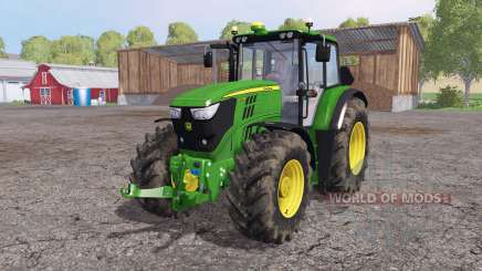 John Deere 6170M loader mounting for Farming Simulator 2015