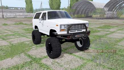 Ford Bronco XLT (U150) 1981 v1.1 for Farming Simulator 2017