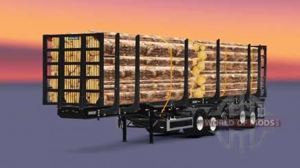 Metalesp Bitrem Florestal for Euro Truck Simulator 2