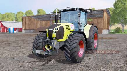CLAAS Arion 650 ploughing spec for Farming Simulator 2015