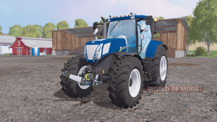 New Holland T7.270 Blue Powеr for Farming Simulator 2015