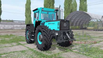 Mercedes-Benz Trac 1800 Intercooler turquoise for Farming Simulator 2017
