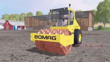 BOMAG BW 214 DH-3 v2.5 for Farming Simulator 2015