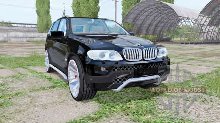 BMW X5 (E53) 2004 for Farming Simulator 2017