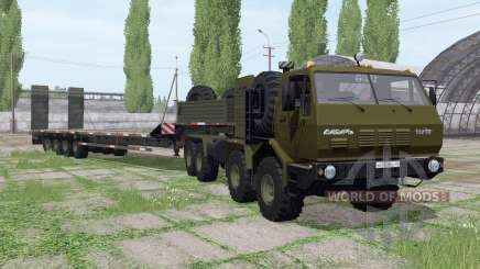 KrAZ 7Э6316 Siberia for Farming Simulator 2017