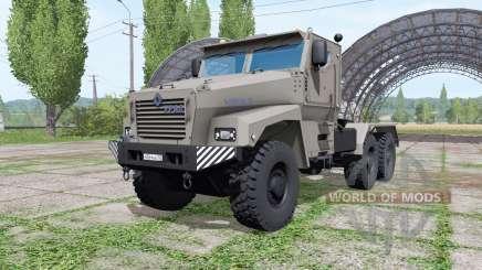 Ural Typhoon-U (63095) 2014 truck v1.1.0.1 for Farming Simulator 2017