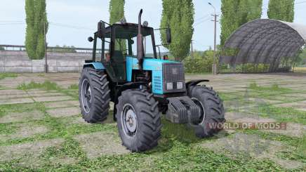 MTZ-1221 Belarus blue for Farming Simulator 2017