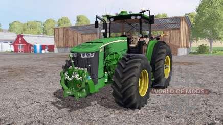 John Deere 8370R Panel IC for Farming Simulator 2015