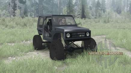 Suzuki Samurai crawler for MudRunner