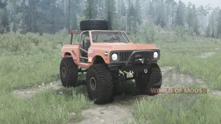 Chevrolet K5 Blazer 1972 crawler for MudRunner