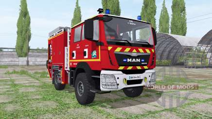 MAN TGM Sapeurs-Pompiers for Farming Simulator 2017