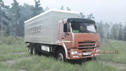KAMAZ-65117 for MudRunner