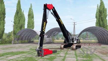 Liebherr R 954 C Litronic chainsaw for Farming Simulator 2017