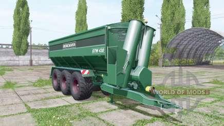 BERGMANN GTW 430 update for Farming Simulator 2017