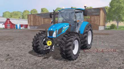 New Holland T5.115 loader mounting for Farming Simulator 2015
