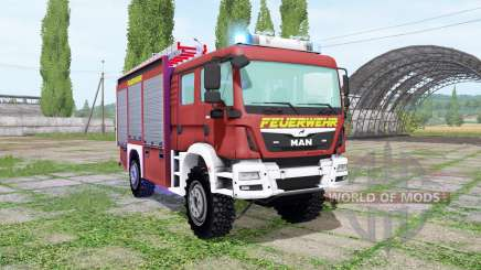 MAN TGM 13.290 Feuerwehr for Farming Simulator 2017