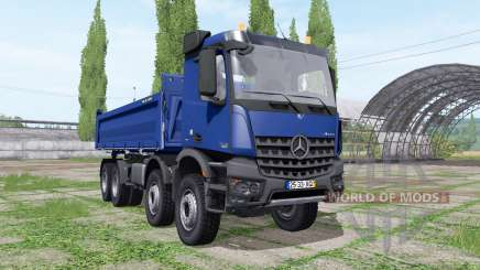 Mercedes-Benz Arocs 3245 K Meiller for Farming Simulator 2017