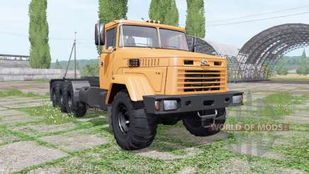 KrAZ 7140Н6 Multilift v1.1 for Farming Simulator 2017
