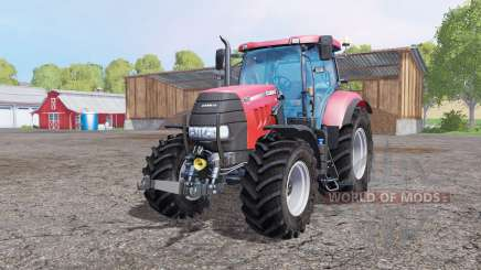 Case IH Puma 160 CVX front loadеr for Farming Simulator 2015